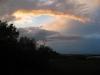 A dramatic sunset - goodbye Assateague!