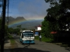 Bus and rainbow, El Valle