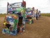 Cadillac Ranch, detail